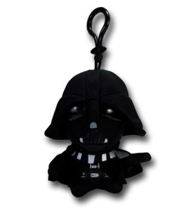 Darth Vader talking clip-on plush