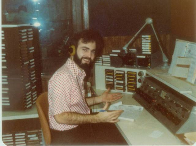 Dad and radio station