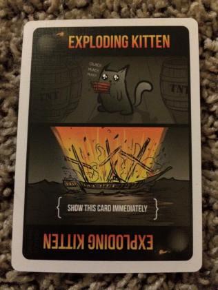 Exploding Kittens February 5th 2016 3