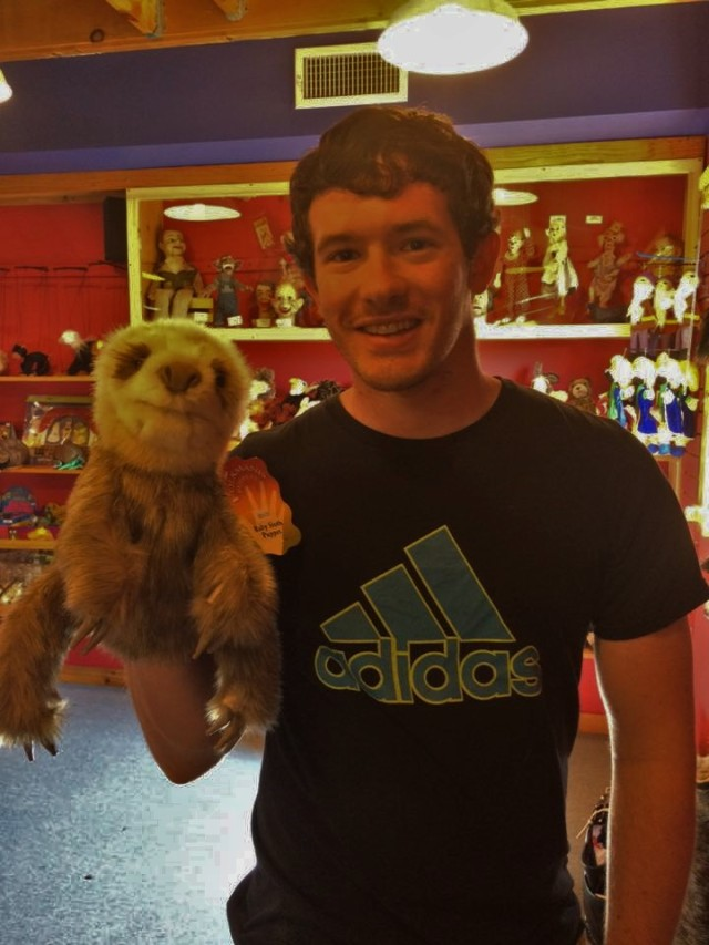 Grant and Sloth Puppet.jpg