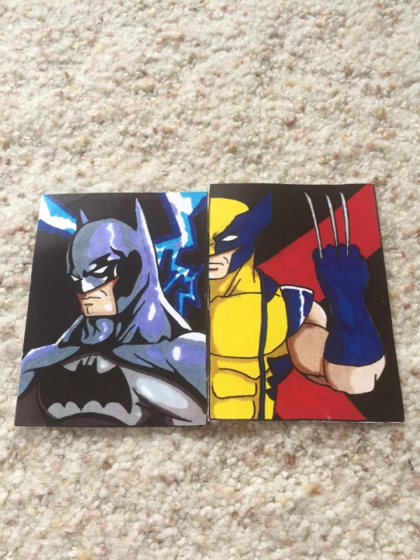 Superhero Pocket Art