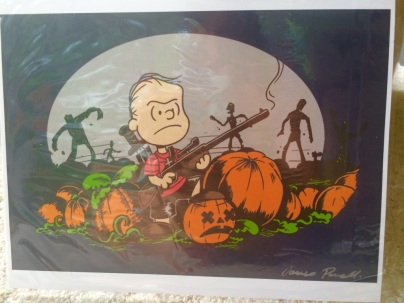 Walking Dead Peanuts Art