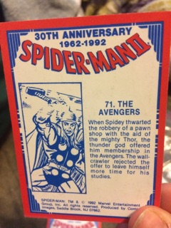 Spiderman Cards 3