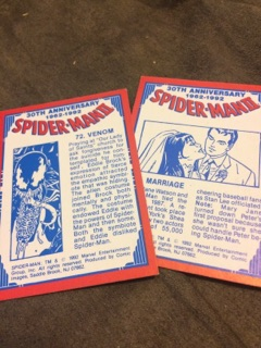 Spiderman Cards 4