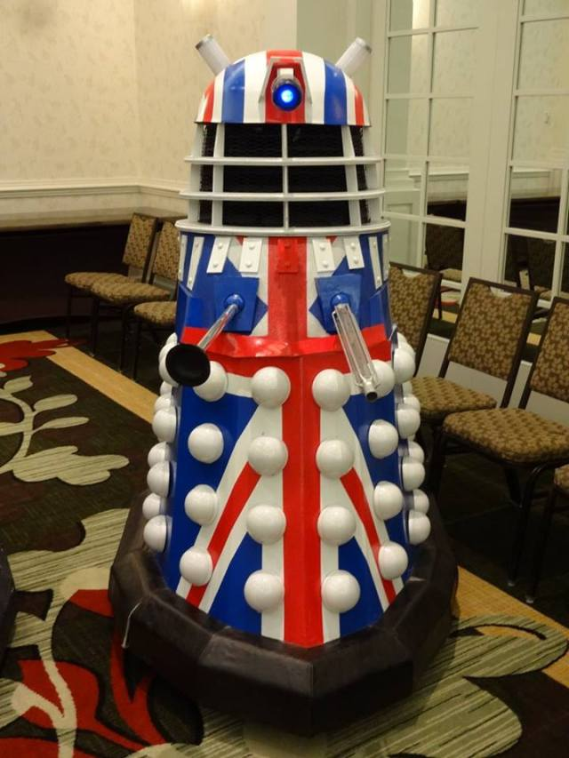 British Dalek Console Room 2015