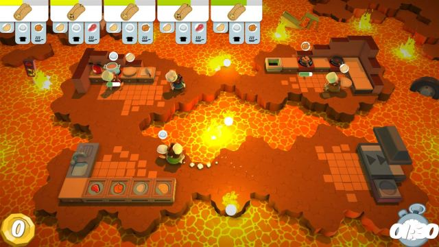 Lava level in Overcooked