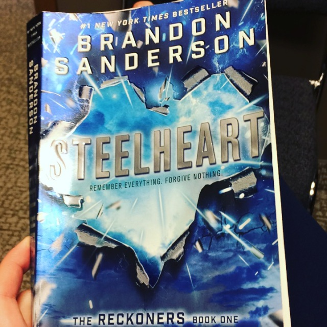Book Cover, Titled Steelheart