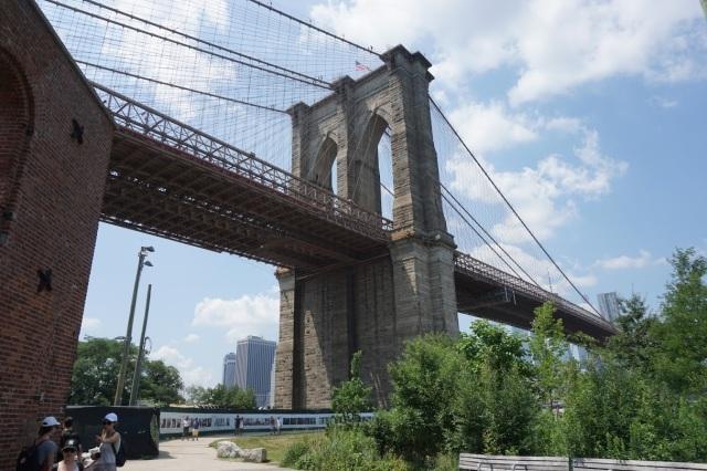 Bridge up close