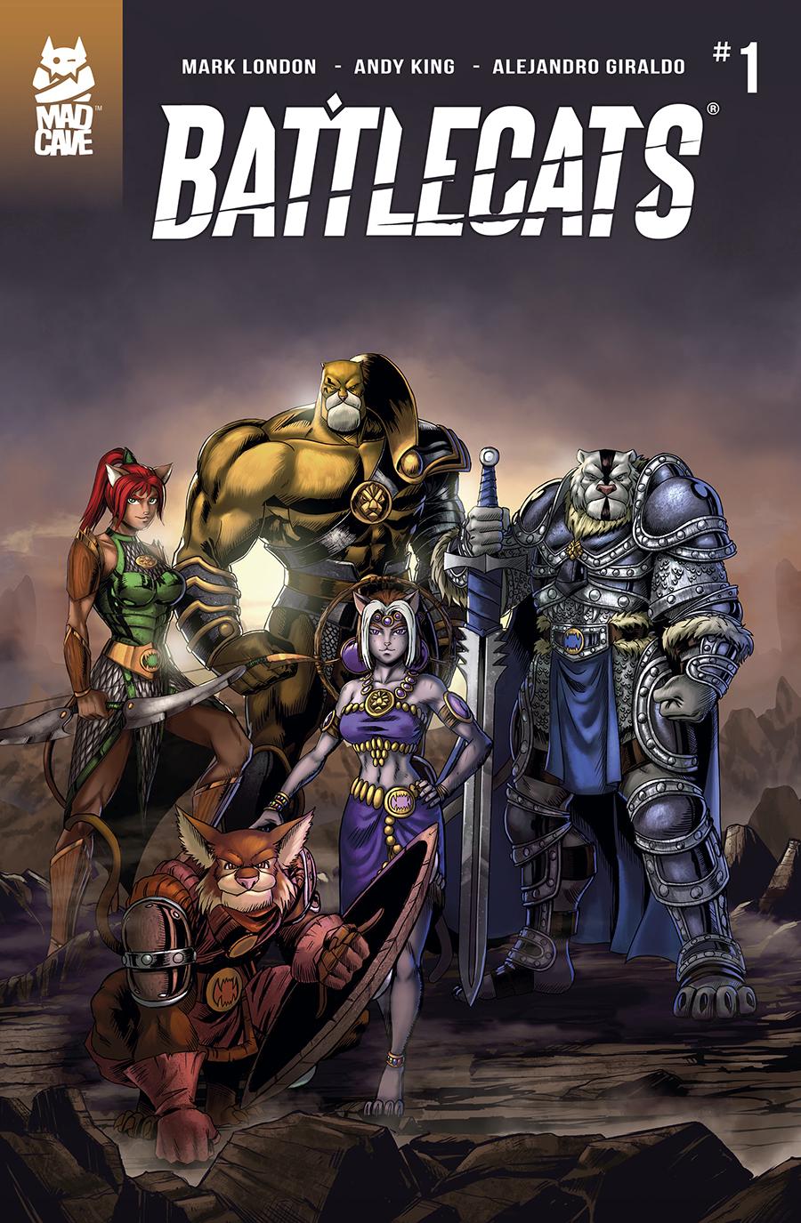 Battlecats #1 Mad Cave