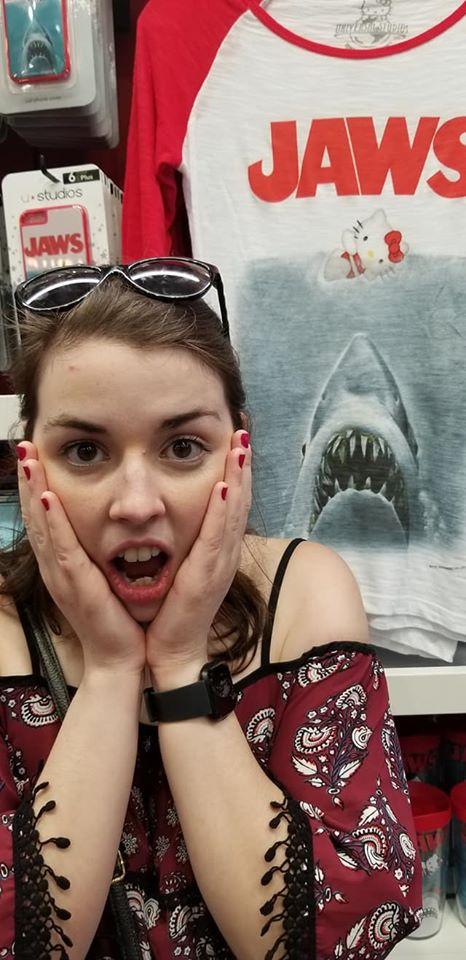 Jaws Hello Kitty Shirt